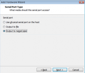 step2 - output data to named pipe
